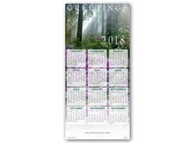 Great Beauty Calendar Cards